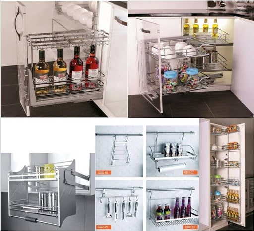 Phụ kiện tủ bếp thông minh TPHCM
