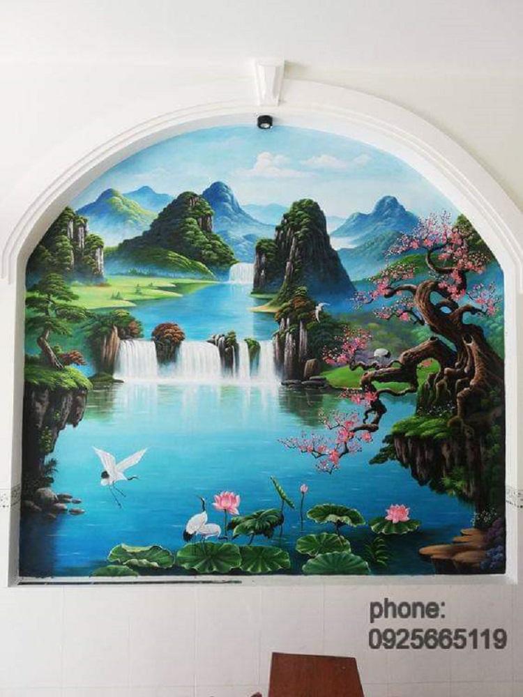 Vẽ Tranh Tường Họa Vĩ - Dịch Vụ Vẽ Tranh Tường Tại Sài Gòn