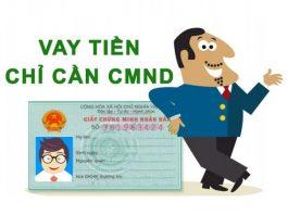Vay online nhanh bằng CMND